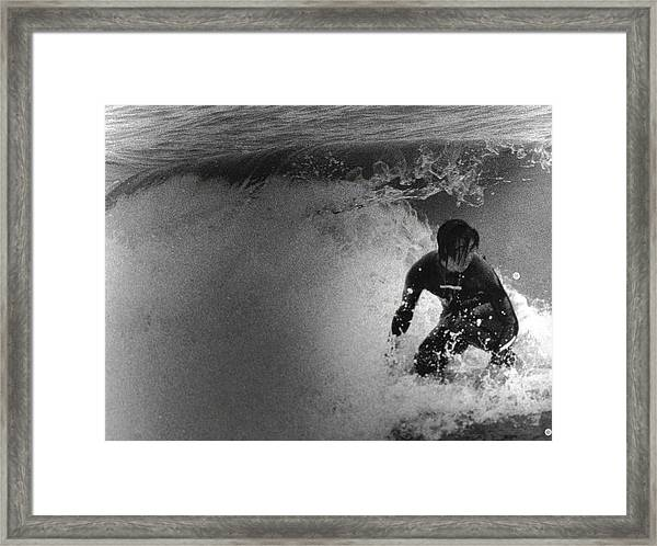 Under The Wedge 2 Framed Print