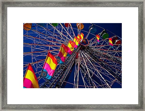 Under The Wheel Framed Print