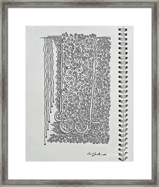 Sound Of Underground Framed Print