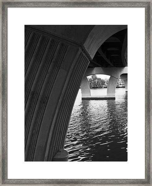 Underneath Yet Above Framed Print