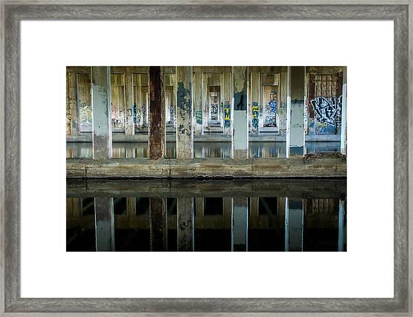 Underpass Framed Print