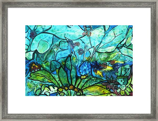 Underwater Fantasy Framed Print