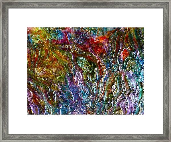 Underwater Seascape Framed Print
