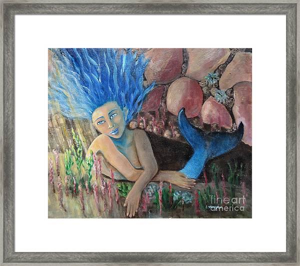 Underwater Wondering Framed Print
