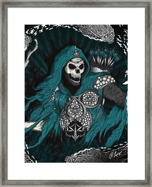 Underworld Archer Of Death Framed Print