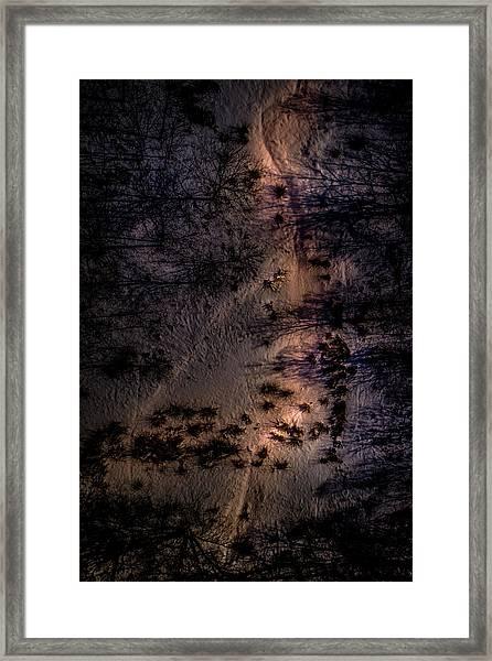 Underworld Light Framed Print