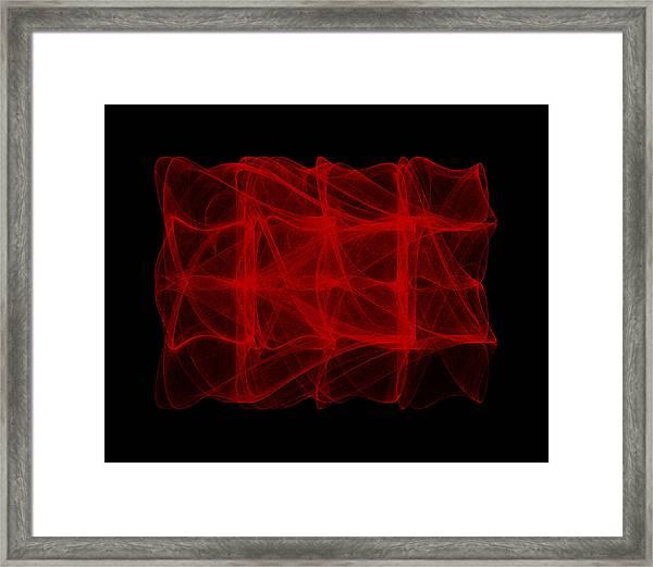 Unfolds Imperfect  I Framed Print