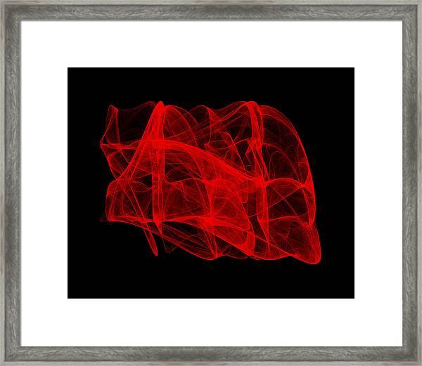 Unfolds Imperfect II Framed Print