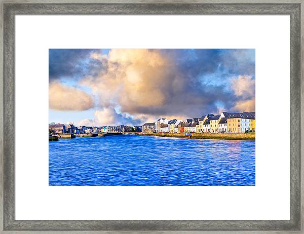 Unforgettable Galway Seaside Framed Print by Mark Tisdale