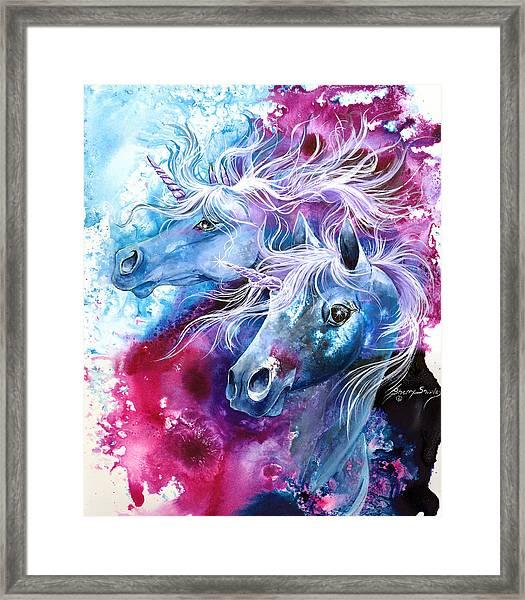 Unicorn Magic Framed Print