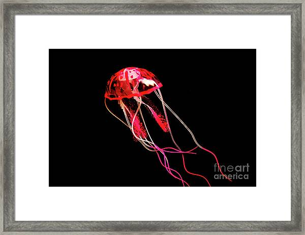Uninhibited Darkness Framed Print