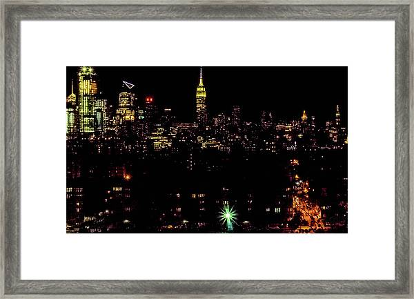 Union City Nj Traffic Framed Print