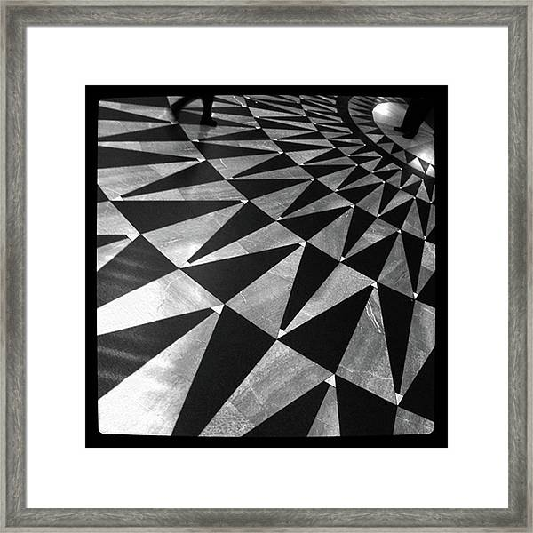 Union Floor II Framed Print