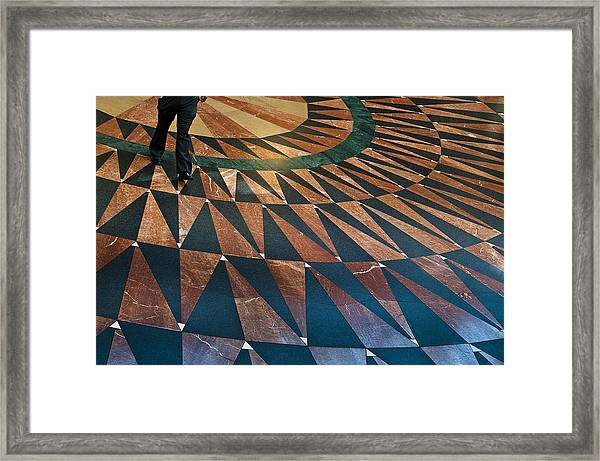 Union Floor Framed Print
