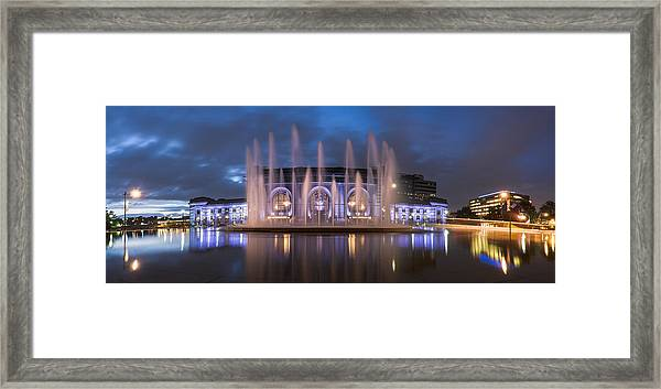 Union Fountain Framed Print