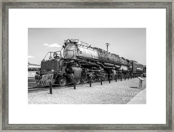 Union Pacific 4012 Framed Print