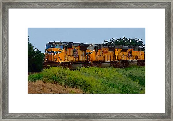 Union Pacific Line Framed Print