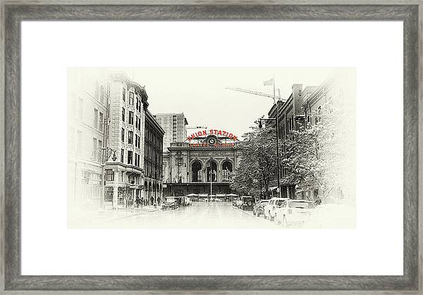 Union Station  Framed Print