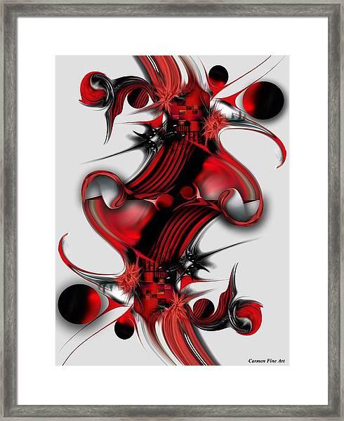 Unique Formation Framed Print