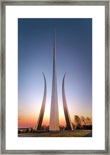 United States Air Force Memorial Framed Print