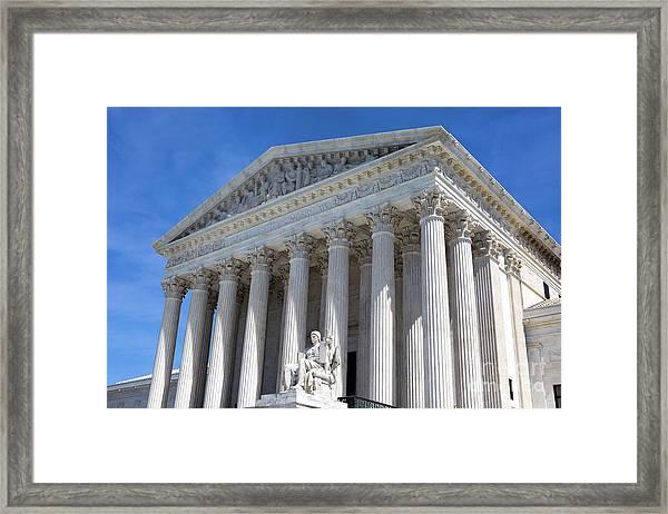 United States Supreme Court Building Framed Print