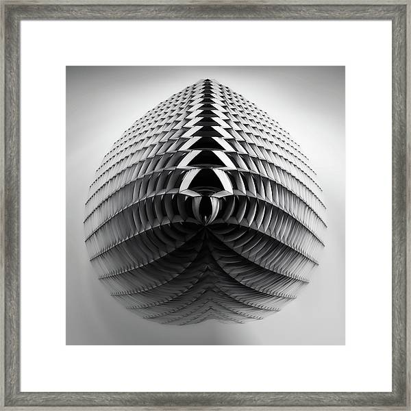 United Steelworkers Building Little Planet  Framed Print
