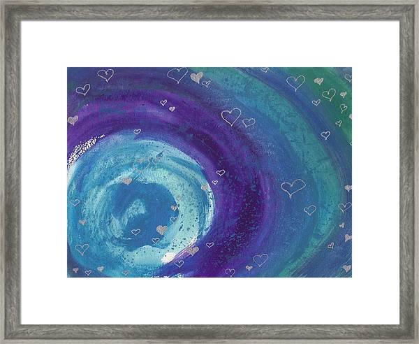 Universal Love Framed Print