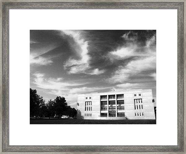 University At Albany  Framed Print