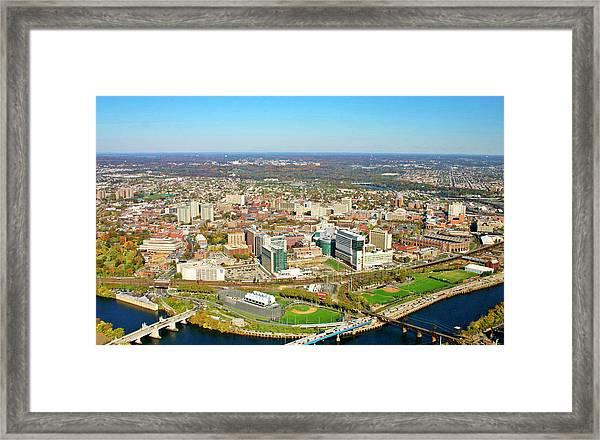 University City Philadelphia Pennsylvania Framed Print by Duncan Pearson