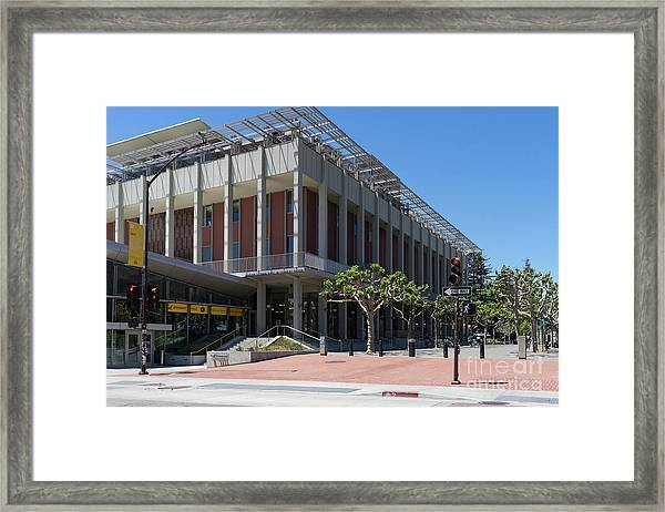 University Of California At Berkeley Martin Luther King Jr Asuc Student Union Sproul Plaza Dsc6241 Framed Print