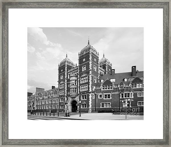 University Of Pennsylvania The Quadrangle Framed Print