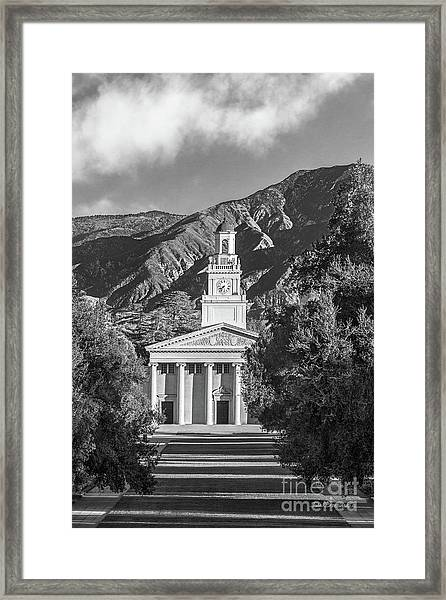 University Of Redlands Memorial Chapel Framed Print