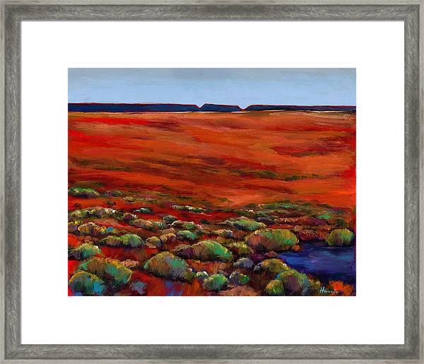 Unknown Plateau Framed Print