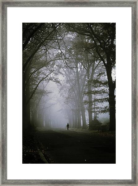Unknown Way Framed Print