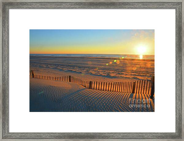 Until Then My Love Framed Print