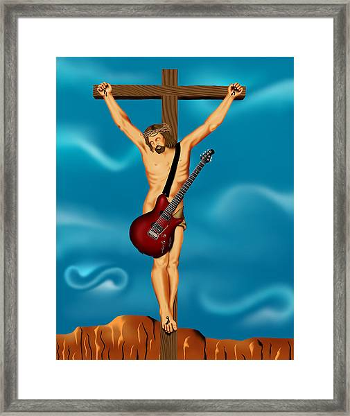 Until There Was Rock You Only Had God Framed Print