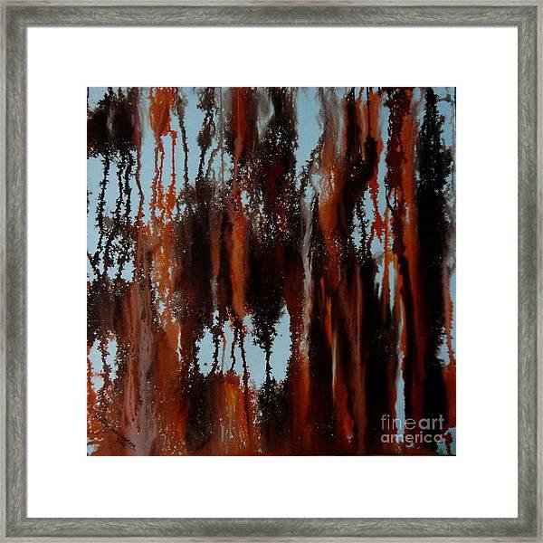 Sunset Of Duars Framed Print