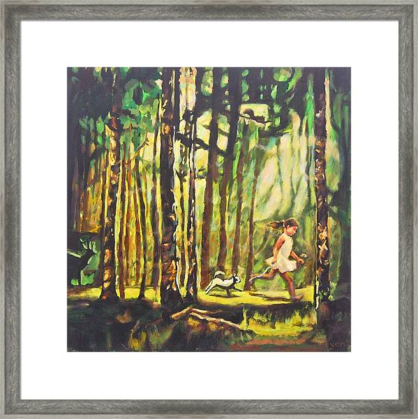 Framed Print featuring the painting Untitled 4 by Yen