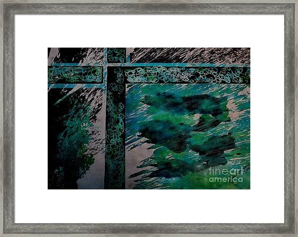 Fencing-1 Framed Print