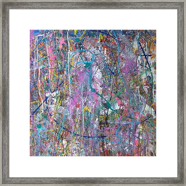 Untitled - Abstract Framed Print