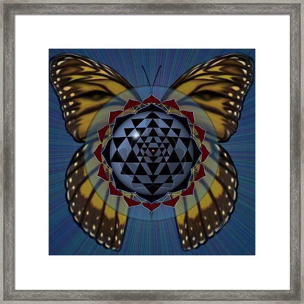 Transforming Meditation Framed Print