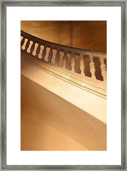 Up There Framed Print by Jez C Self