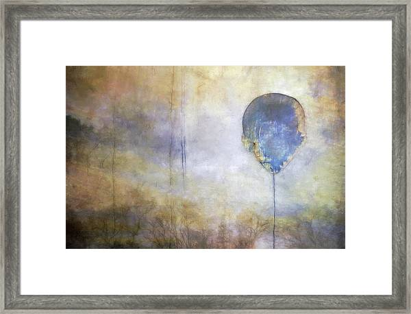 Up Up And Away... Framed Print
