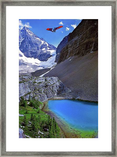 Up, Up, And Away Framed Print