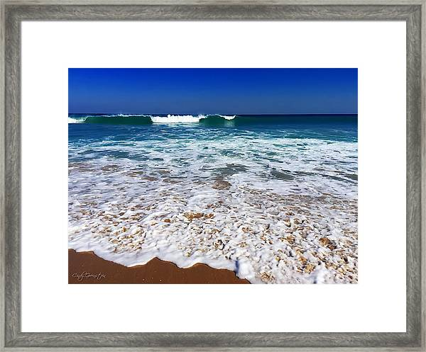 Upon Entry Framed Print