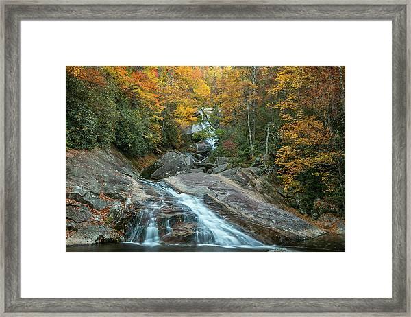 Upper Creek Autumn Paradise Framed Print
