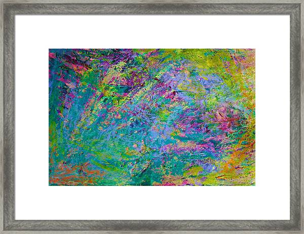 Uprising Color Poem Framed Print