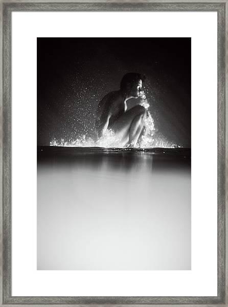 Upside Down Framed Print