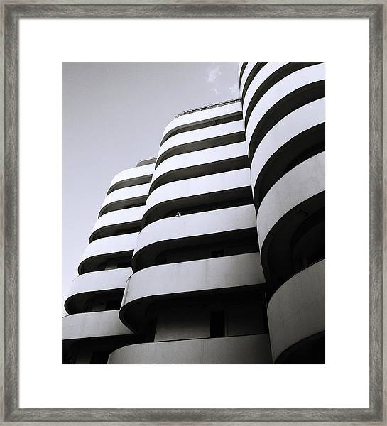Urban Alienation Framed Print