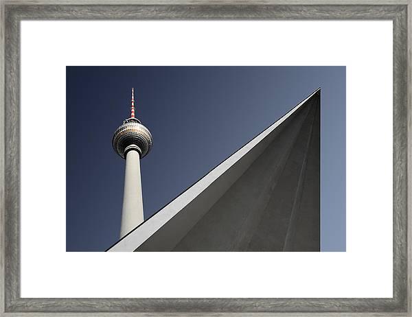 Urban Geometry Framed Print by Markus Kuhne